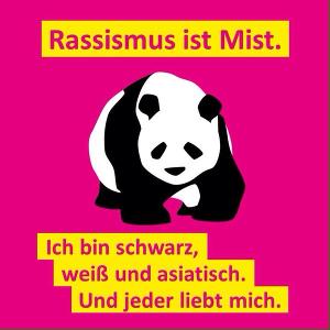 Panda über Rassismus