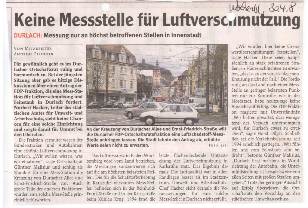 Durlacher Wochenblatt