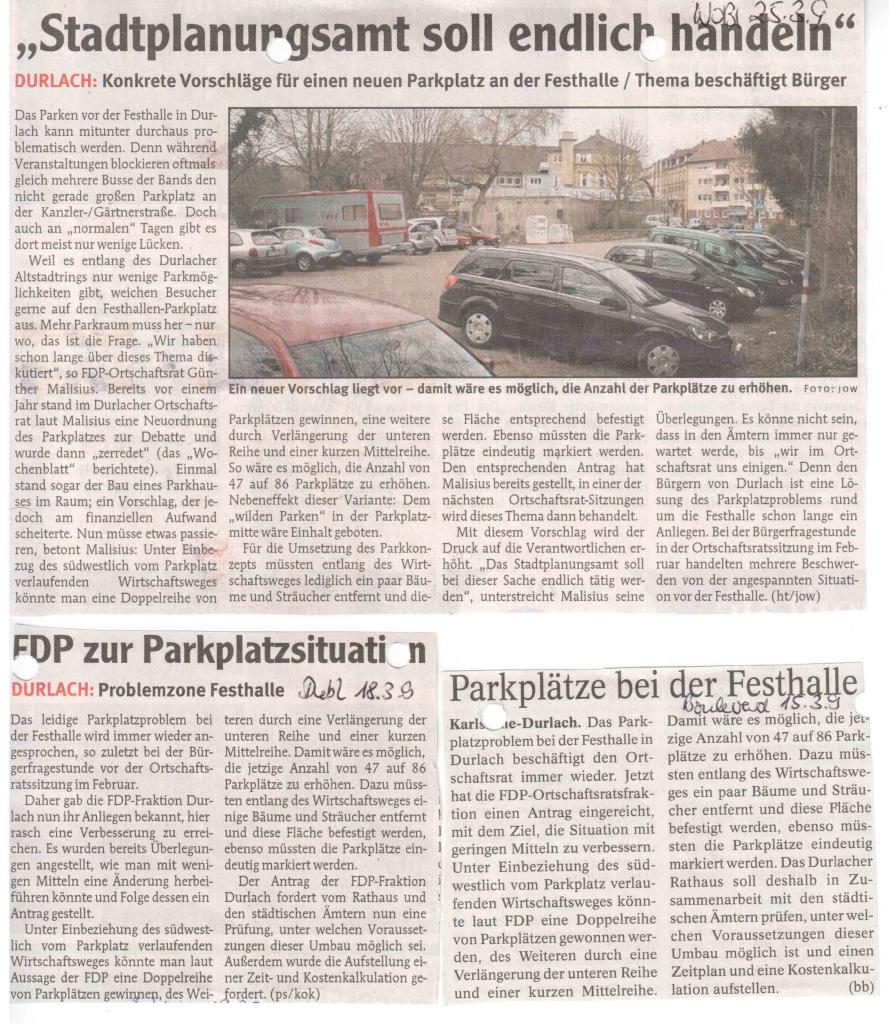 Durlacher Wochenblatt, Durlacher Blatt, Boulevard Baden